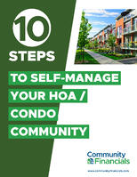 10 Steps to Self Manage Your Community