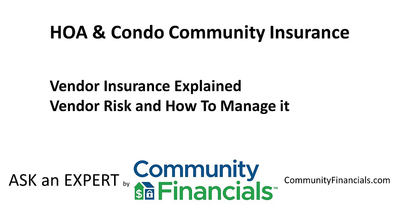 Ask_an_Expert_David_Jeranko_-_Vendor_Insurance_First_Frame