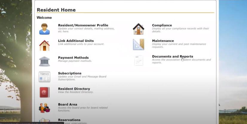 Image of ComWeb Website